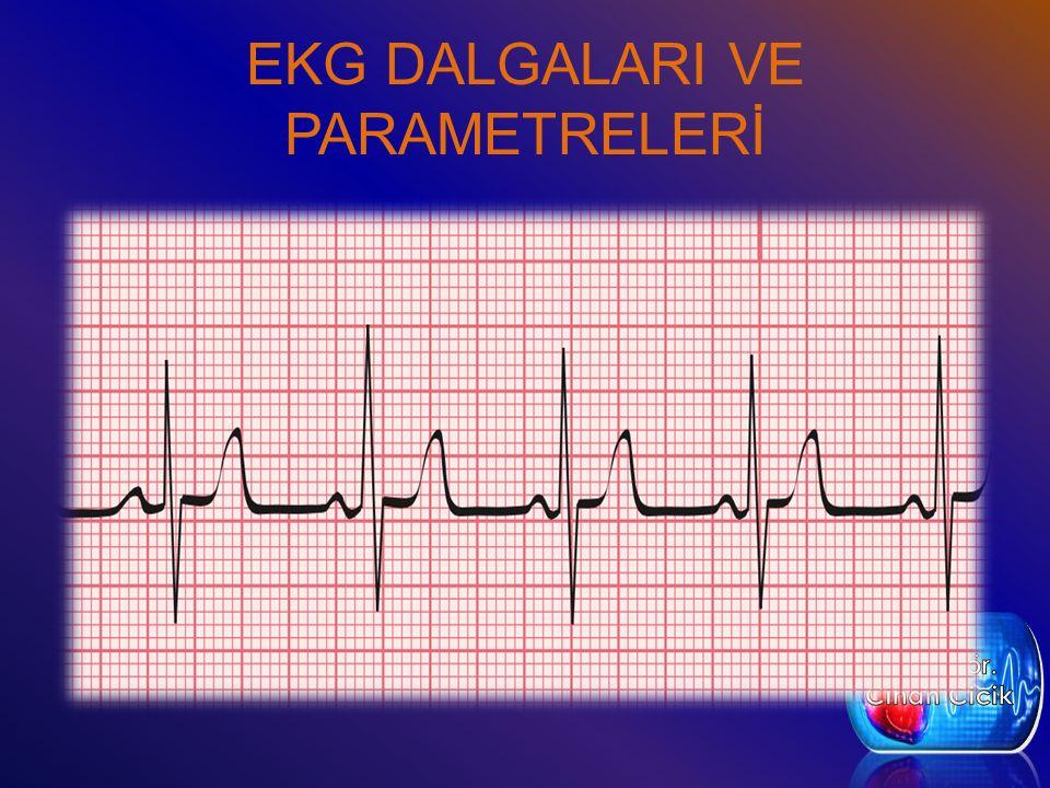 EKG DALGALARI VE PARAMETRELERİ