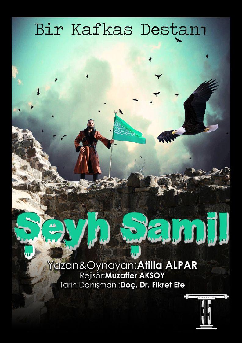 ŞEYH ŞAMİL İmam Şamil, Kuzey Kafkasya halklarının, Kumuk kökenli politik ve dini önderi.