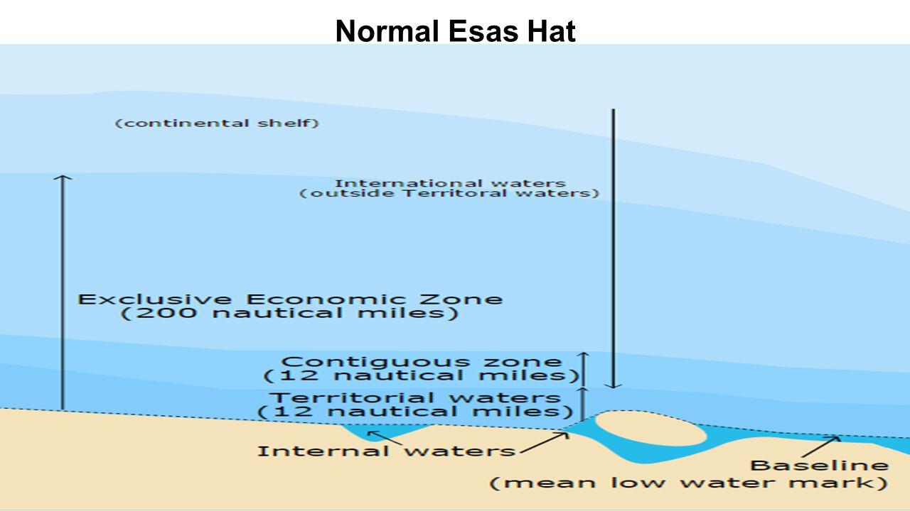 (Açık mavi ile gösterilmiş alanlar Münhasır Ekonomik Bölgeleri, Koyu mavi ile gösterilmiş alanlar Açık Denizleri belirtmektedir.)