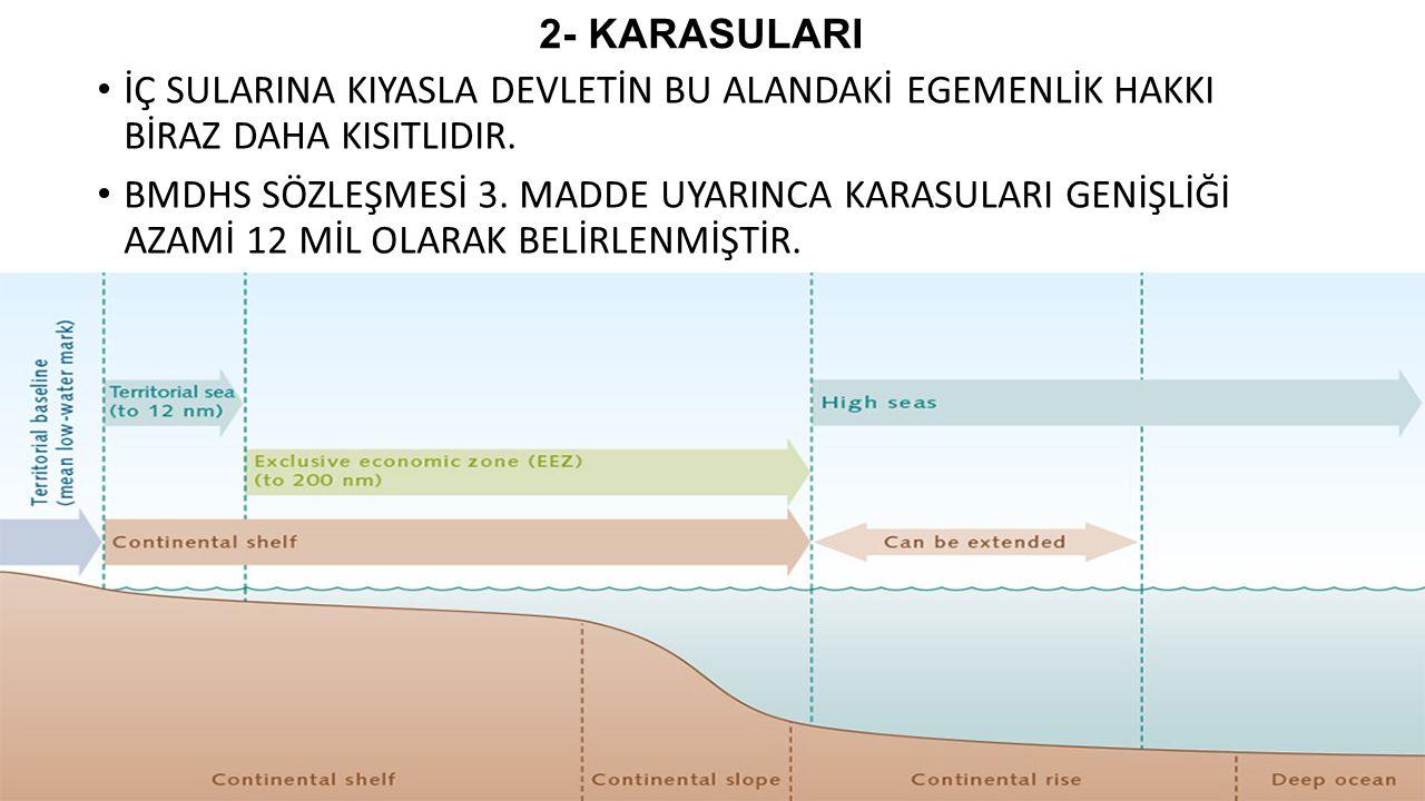 KARA SULARININ HUKUKİ REJİMİ Açık denizin bir parçası mı.
