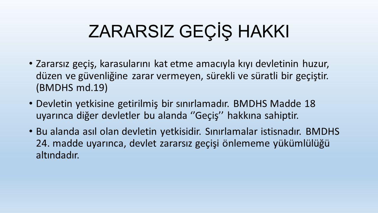 2) Barış zamanında Karadeniz'e Kıyısı Olan Devlet Savaş Gemilerinin Durumu: Bu devletlere daha ayrıcalıklı bir durum tanınmaktadır.