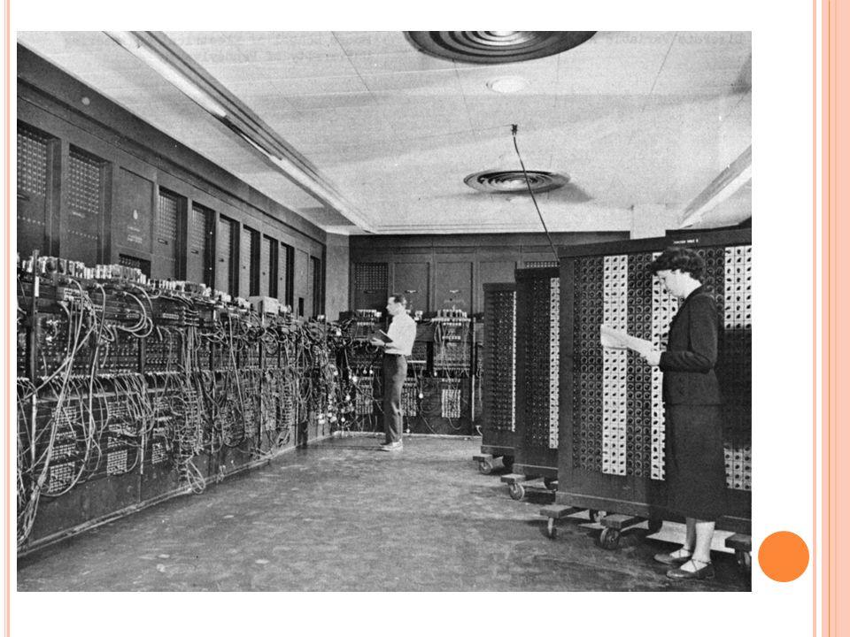 Savaş Sonrası Savaşın ardından ENIAC ağırlıklı olarak hava tahminlerinde, atom enerjisi hesaplamalarında, kozmik ışın çalışmalarında, termal tetikleme, rastgele sayı bulunmasında, rüzgar tüneli dizaynında ve diğer bilimsel araştırmalarda kullanıldı.
