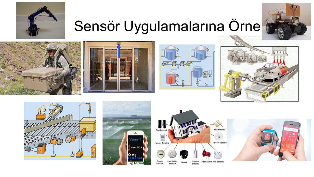 Sensör Uygulamalarına Örnekler