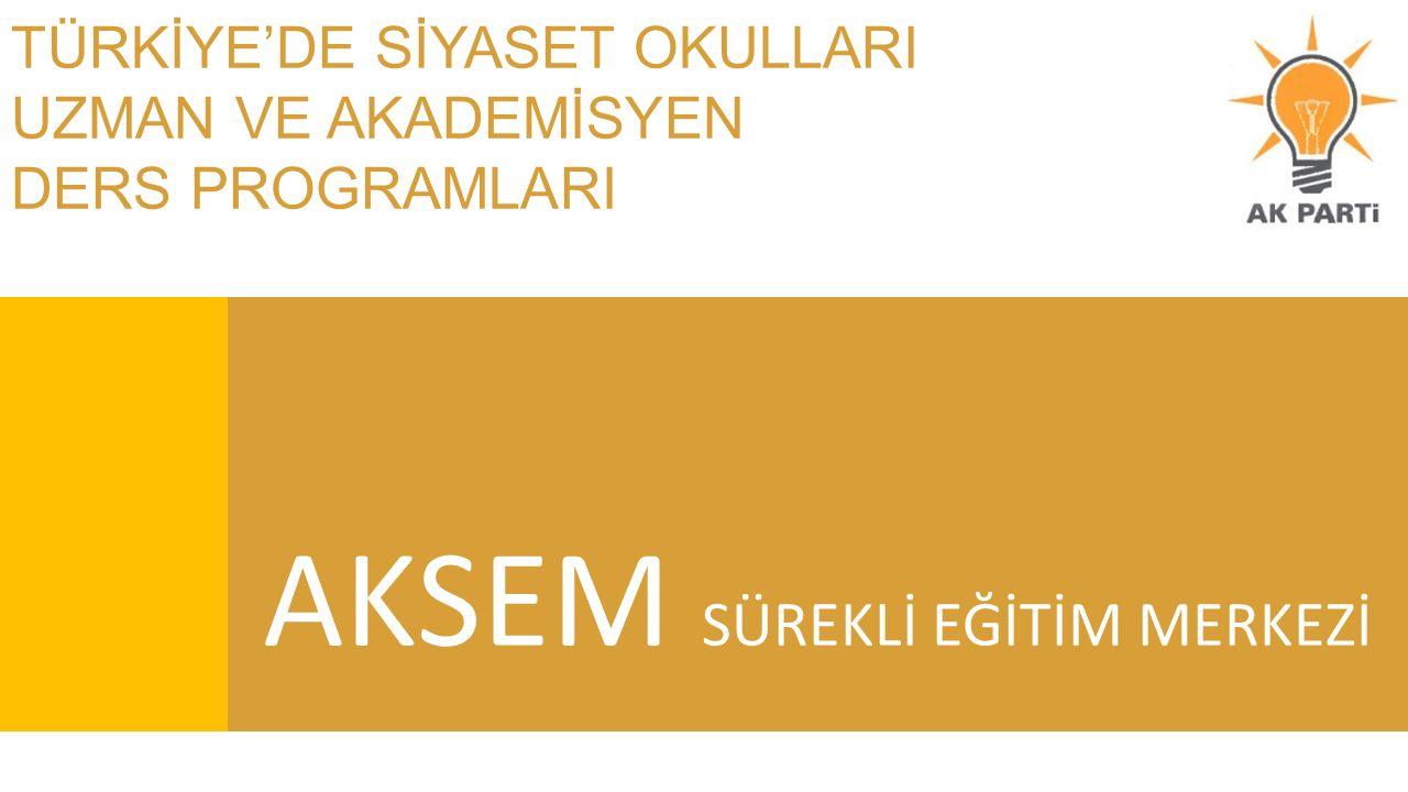 İÇİNDEKİLER AÇIKLAMA 1) Kişisel Gelişim Programları & Siyaset ve Liderlik Okulu Turgut Özal Üniversitesi 2) Üsem Sürekli Eğitim Merkezi Üsküdar Üniversitesi 3) Tügva Genç Diplomat Akademisi 4) AK PARTİ Siyaset Akademisi 5) Tecrübe Paylaşımı Programları 6) Kadın Siyaset Okulu İstanbul Üniversitesi 7) Tecrübe Paylaşımı Programları Bahçeşehir Üniversitesi 8) Tecrübe Paylaşımı Programları Bahçeşehir Üniversitesi 9) Tecrübe Paylaşımı Programları Bahçeşehir Üniversitesi 10) Tecrübe Paylaşımı Programları Bahçeşehir Üniversitesi