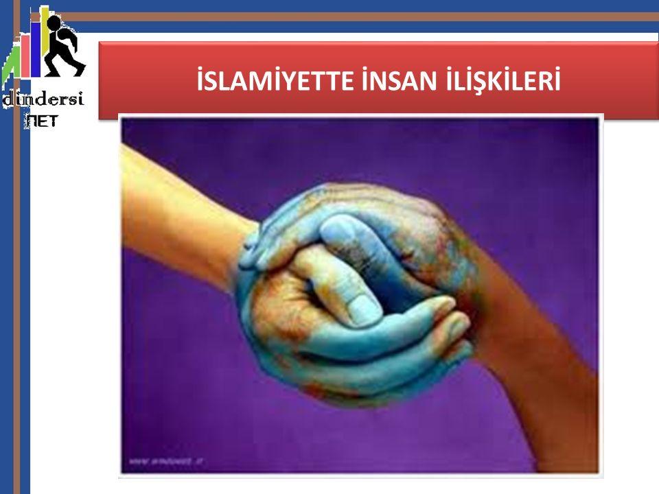16)Dostları ziyaret: Müslümanlar uygun zamanlarda gidip din kardeşlerini,büyüklerini ve yakınlarını ziyaret ederler.Bu ziyaret bir sevgi ve bağlılık nişanıdır.