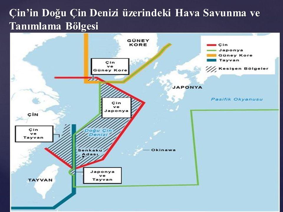 Japonya için temel tehditler: Japonya için temel tehditler: Kuzey Kore'nin nükleer faaliyetlerini, Çin in savunma politikası ve askeri kuvvetleri gelişme çalışmalarının şeffaf olmamasını, Tayvan ve Güney Çin Denizi sorunlarını, Rusya'nın ordusunu modernize ederek bölgedeki etkinliğini artırması Güney Kore ile yaşanan Dokdo/Takeşima adaları, Çin ile yaşanan Senkaku/Diaoyu adaları, Rusya ile yaşanan Kuril adaları sorunu, Doğu Çin Denizi'ndeki egemenlik meselesi, tek Çin prensibini savunmakla birlikte Tayvan'a verilen dolaylı destek