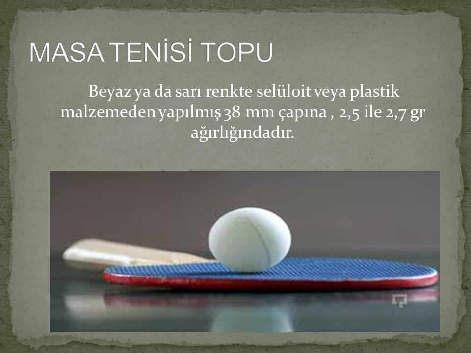 Masa tenisinde en önemli araç raketlerdir.Üç kısımdan meydana gelir.