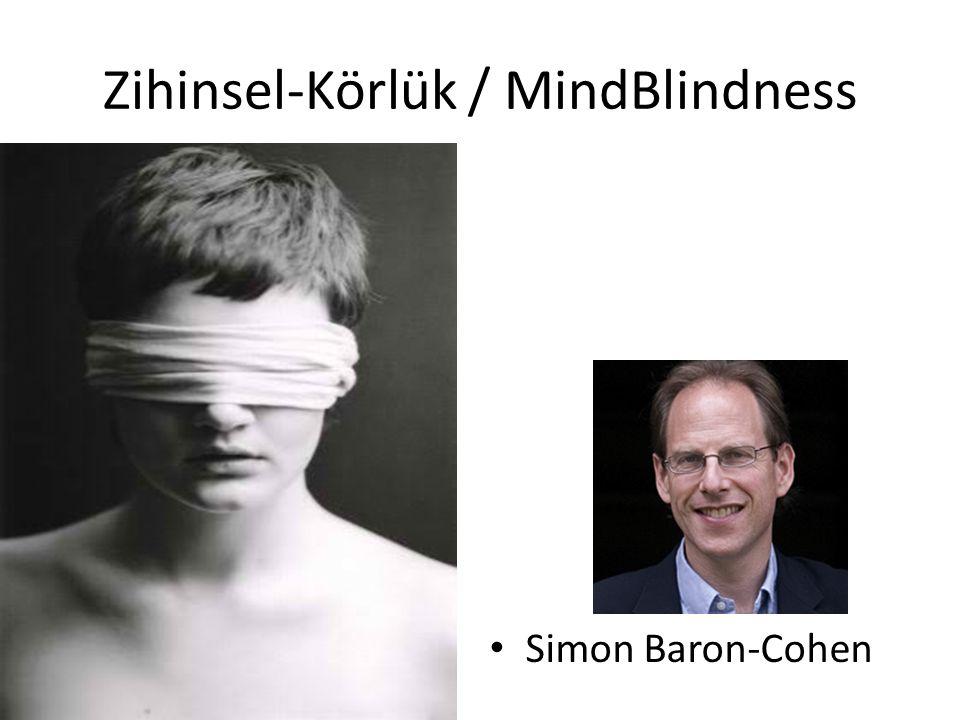 Zihinsel-Körlük / MindBlindness Simon Baron-Cohen