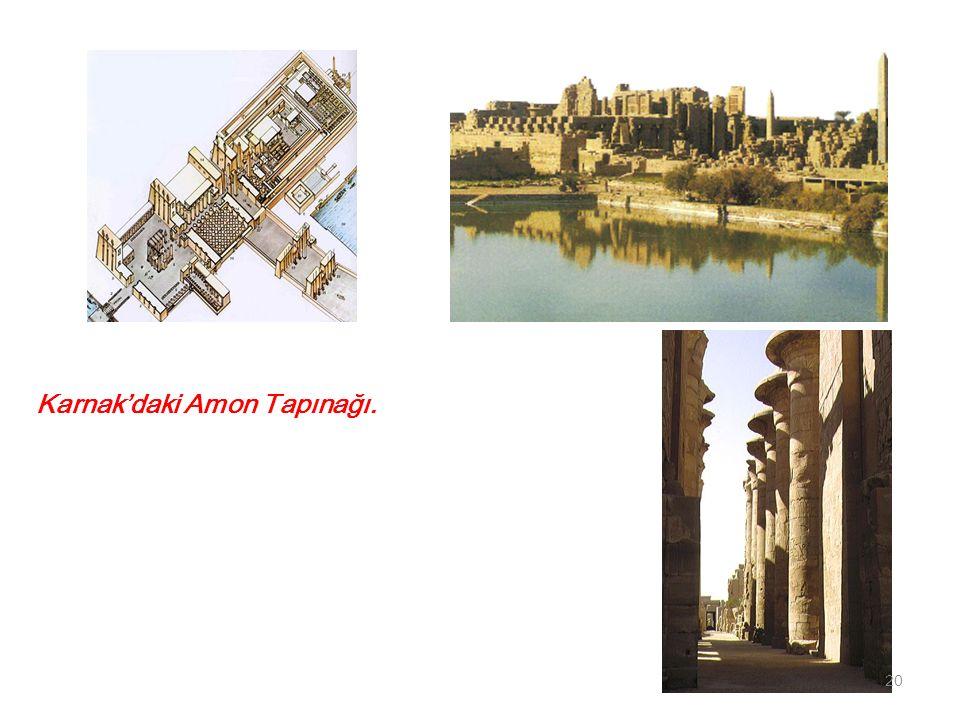 Karnak'daki Amon Tapınağı. 20