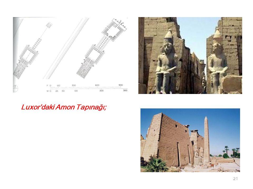Luxor'daki Amon Tapınağı; 21