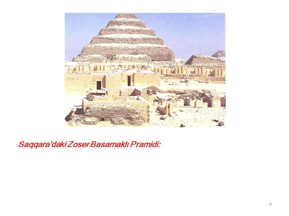 Saqqara'daki Zoser Basamaklı Pramidi: 4