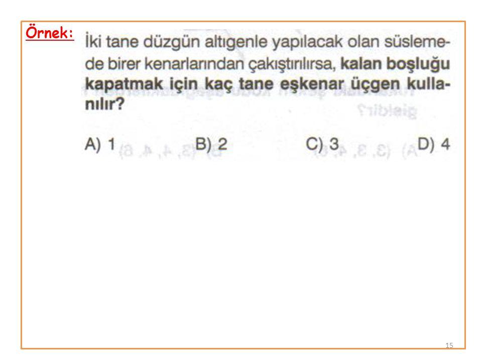 Örnek: 15