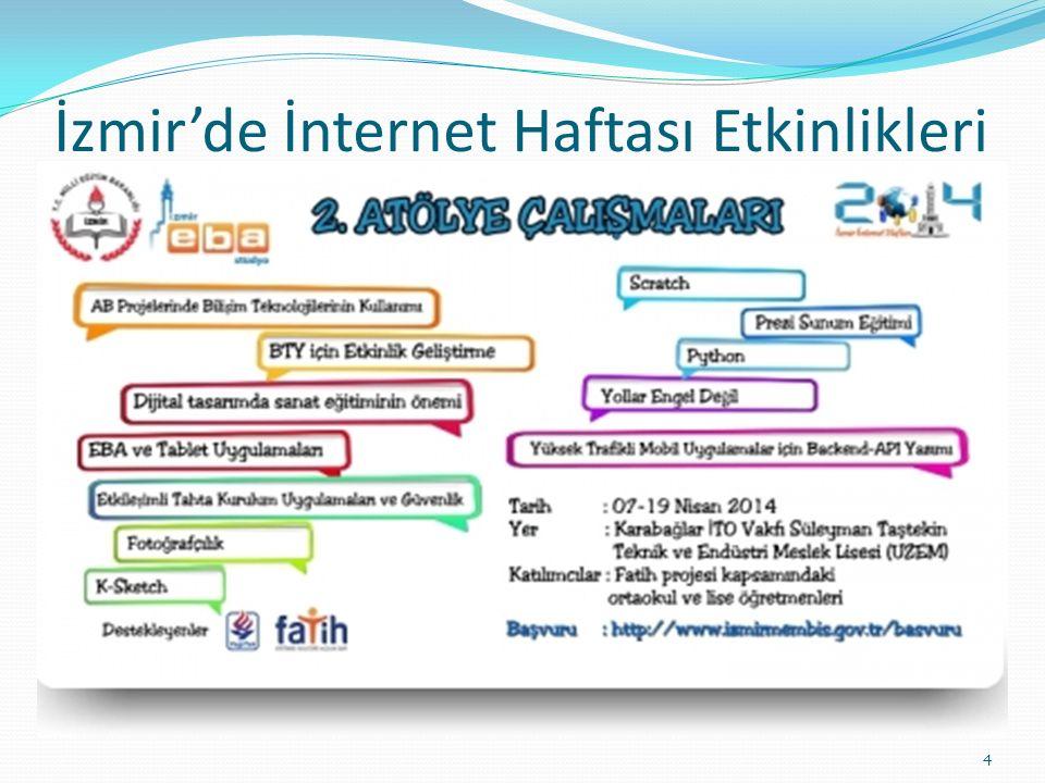 İzmir'de İnternet Haftası Etkinlikleri 4