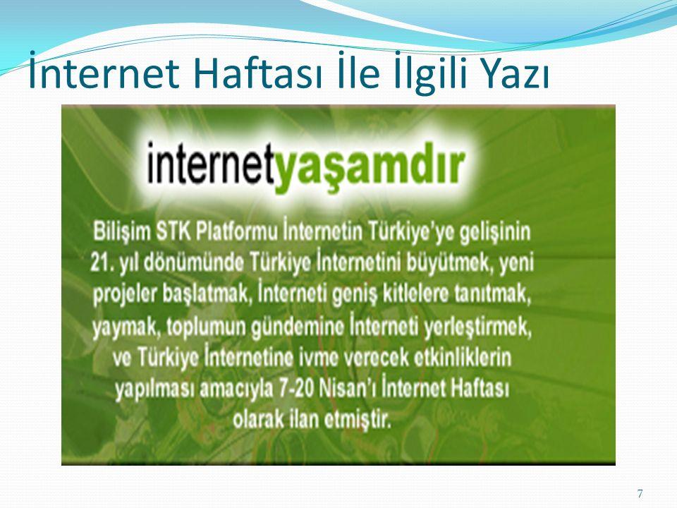 KAYNAKÇA http://internethaftasi.org.tr/hafta14/aktif_katili m_cagrisi.php http://mebk12.meb.gov.tr/meb_iys_dosyalar/35/06 /716616/icerikler/internet-haftasi-etkinlikleri- 2014_1154513.html?CHK=96a389950dc8133cdcaf3f23 266d700f http://www.tualim.net/belirli-gunler-ve-haftalar- konulu-siirler/3699-internet-haftasi-ile-ilgili- siirler-internet-haftasi-konulu-siirler.html 8