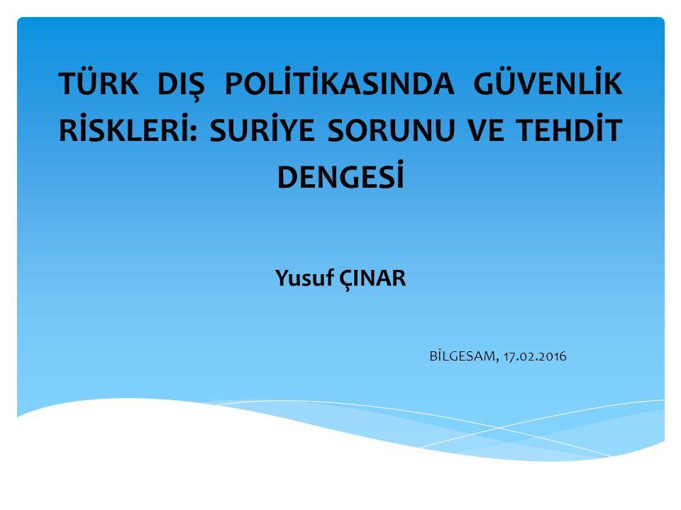  Türkiye neden PYD Konusunda ısrarlı ?