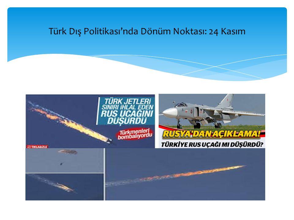 Türk Dış Politikası'nda Dönüm Noktası: 24 Kasım