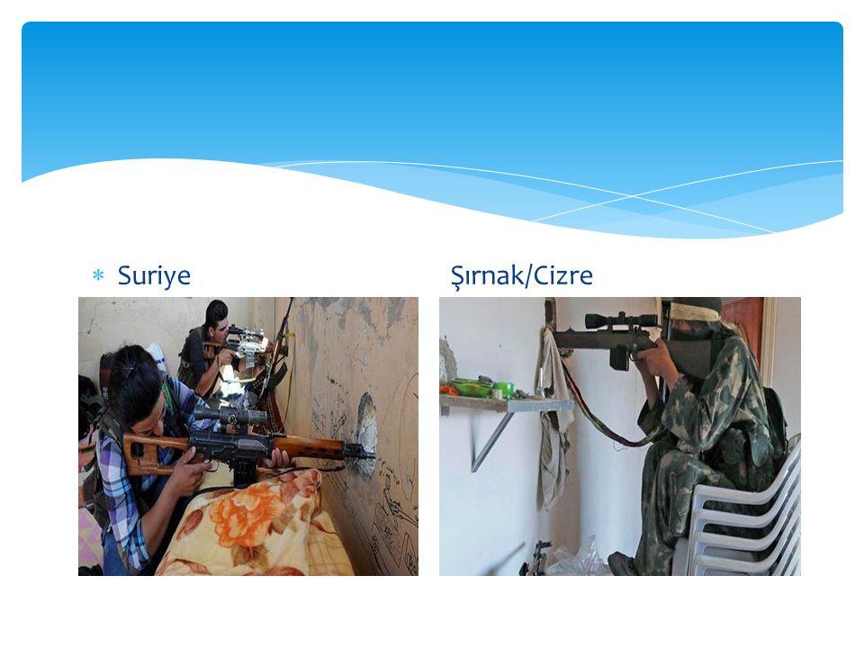  Suriye Şırnak/Cizre