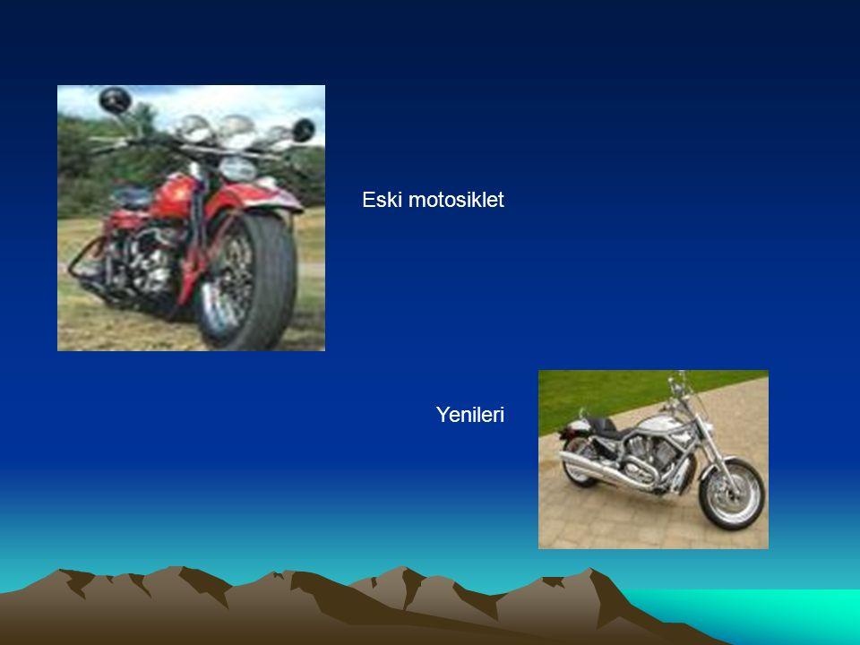 Eski motosiklet Yenileri