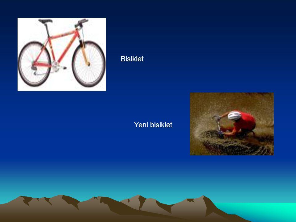 Bisiklet Yeni bisiklet