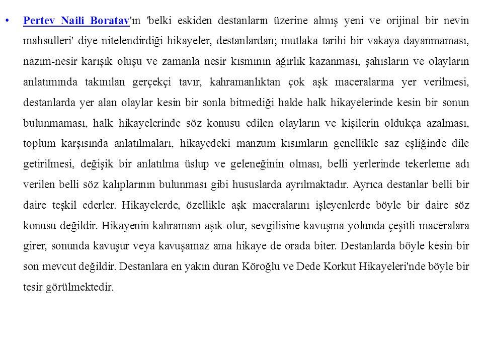B.MOTİFLERİNE GÖRE İNCELEME 1.