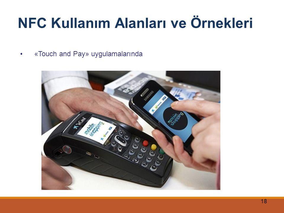 18 NFC Kullanım Alanları ve Örnekleri «Touch and Pay» uygulamalarında