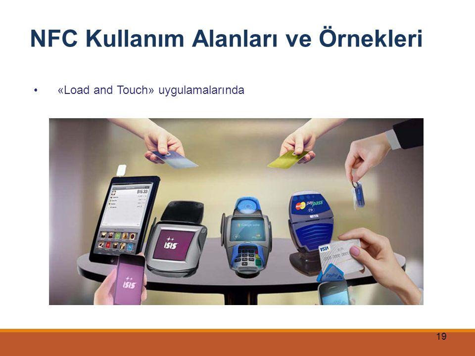 19 NFC Kullanım Alanları ve Örnekleri «Load and Touch» uygulamalarında