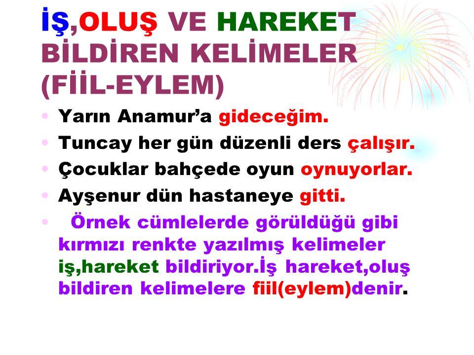 ÖRNEKLER Türkler,çok misafirperverdir.Türkler,çok misafirperverdir.