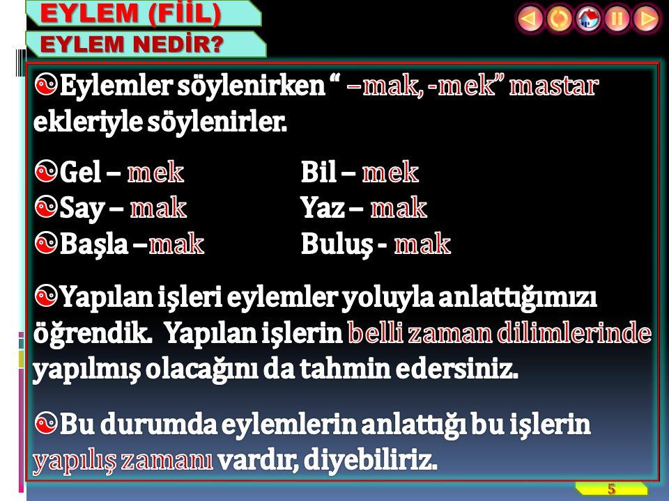 16 ZİYA IŞIK EYLEM (FİİL) 3. GELECEK ZAMAN
