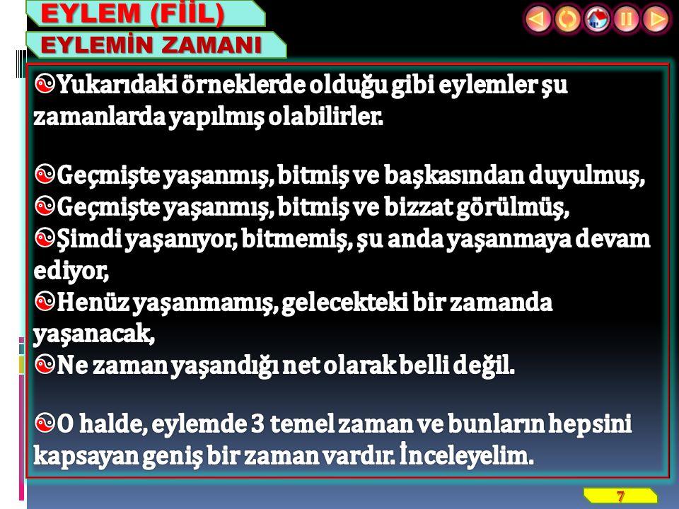 18 ZİYA IŞIK EYLEM (FİİL) 4. GENİŞ ZAMAN