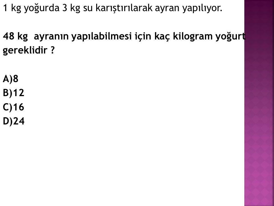 Bir kamyon Afyon 'dan İzmir'e saatte 50 km hızla 7 saatte varıyor.