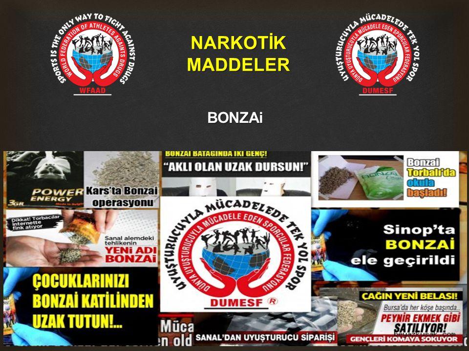 NARKOTİKMADDELER BONZAi