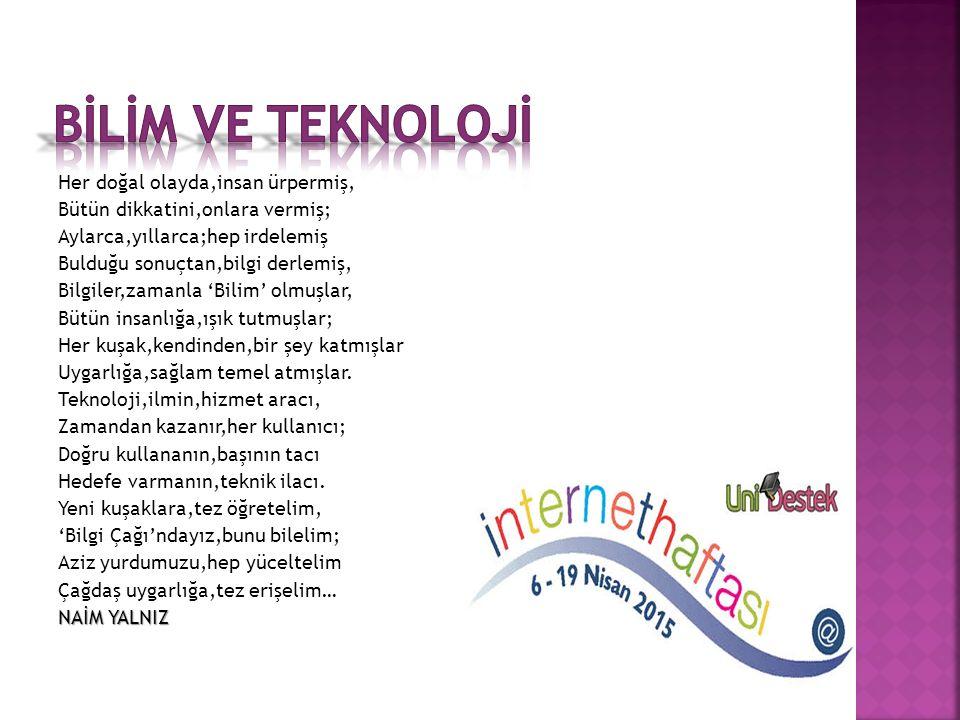  İzmir İnternet haftası 2014 yılı etkinlikleri çerçevesinde,bireylerin interneti doğru kullanmalarını desteklemenin yanı sıra Fatih Projesinin de ama