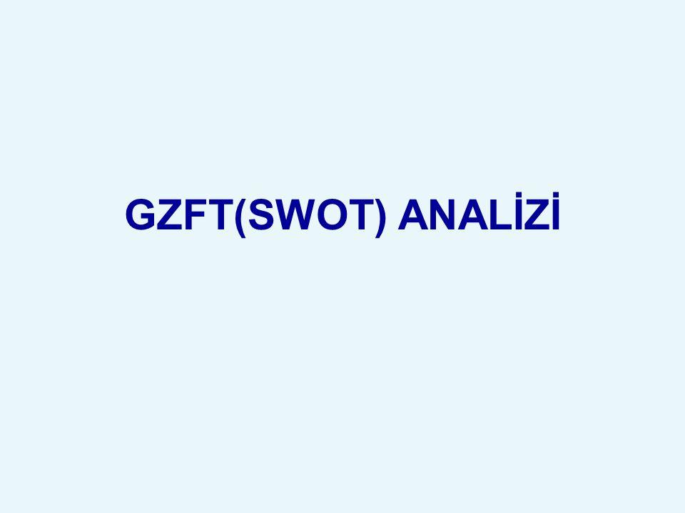GZFT(SWOT) ANALİZİ