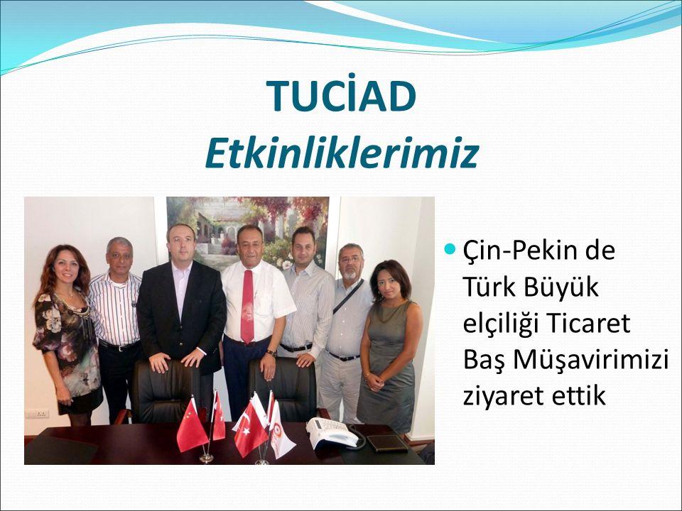 Çin-Pekin de Türk Büyük elçiliği Ticaret Baş Müşavirimizi ziyaret ettik