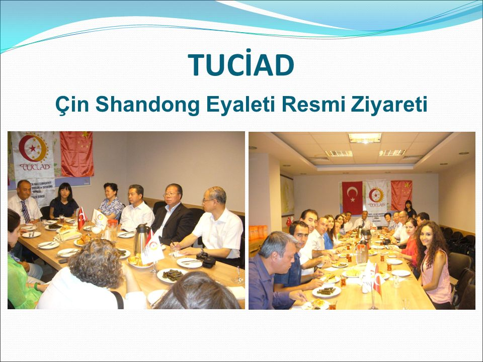 TUCİAD Çin Shandong Eyaleti Resmi Ziyareti