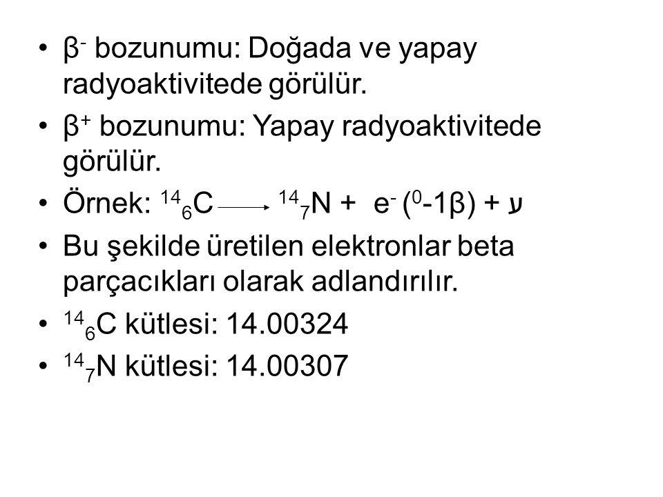 Aralarındaki kütle kaybı: 0.0017 birim (0.156 meV) kinetik enerjiye dönüşür.