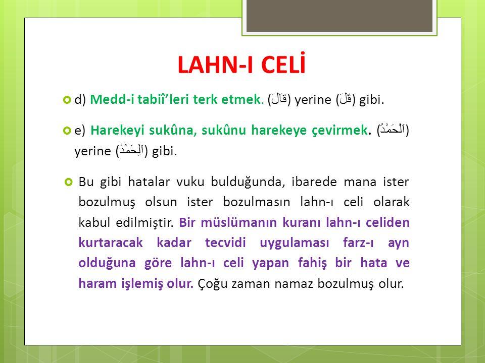 KUR'AN-I KERİM İLE İLGİLİ TEMEL BİLGİLER  Kur an-ı Kerim 'de Hizb adedi : Her Cüzde 4 hizb vardır.