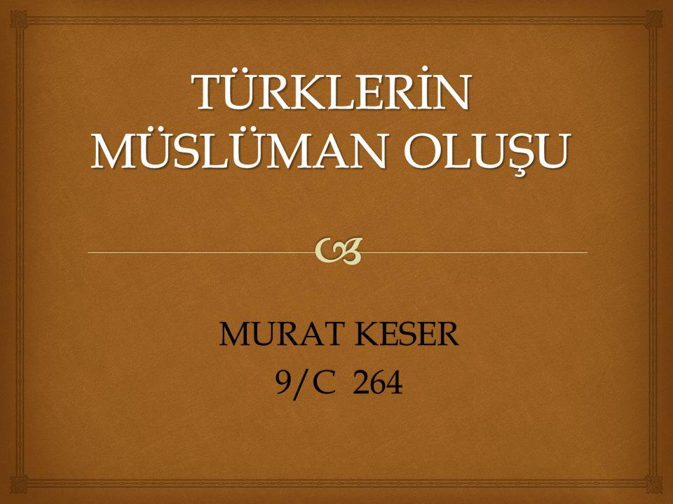 MURAT KESER 9/C 264