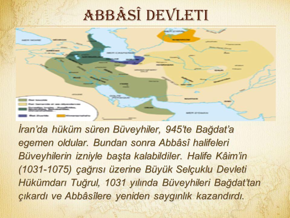 Abbâsî Devleti Yerine geçen oğlu Vâsık (842-847) döneminde Türk emirleri askerî işlerin yanı sıra yönetsel konularda daha etkili oldular. Vâsık'ın ölü