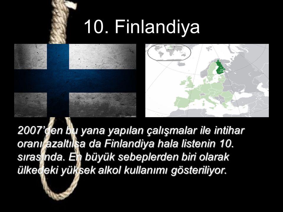 İntihar Oranı En Yüksek 10 Ülke Berat Köse