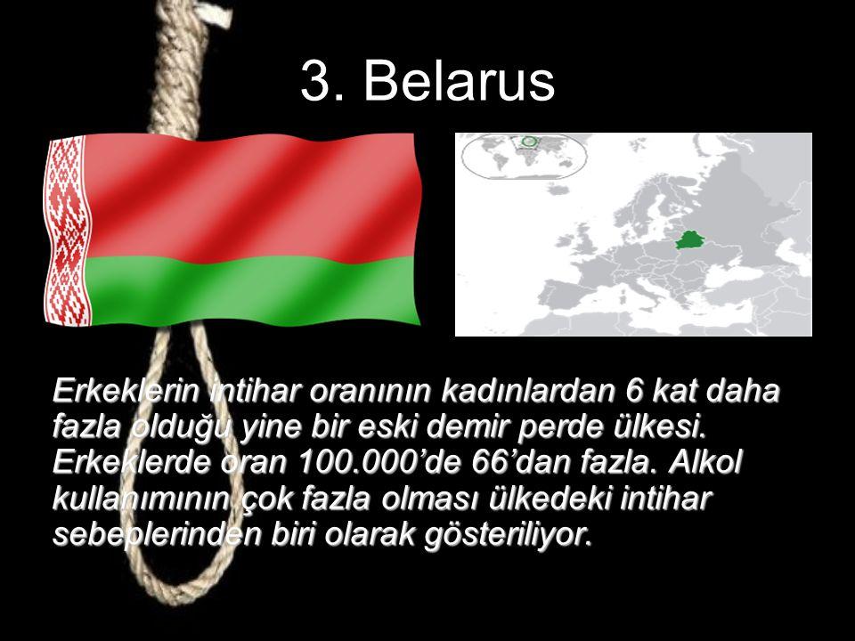 4.Letonya Bekar annelerin ve intihar eğilimli erkekler in toprağı.