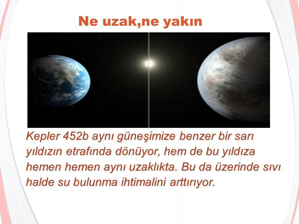 Kepler 452b hakkında bilmeniz gereken 6 şey Berat Köse