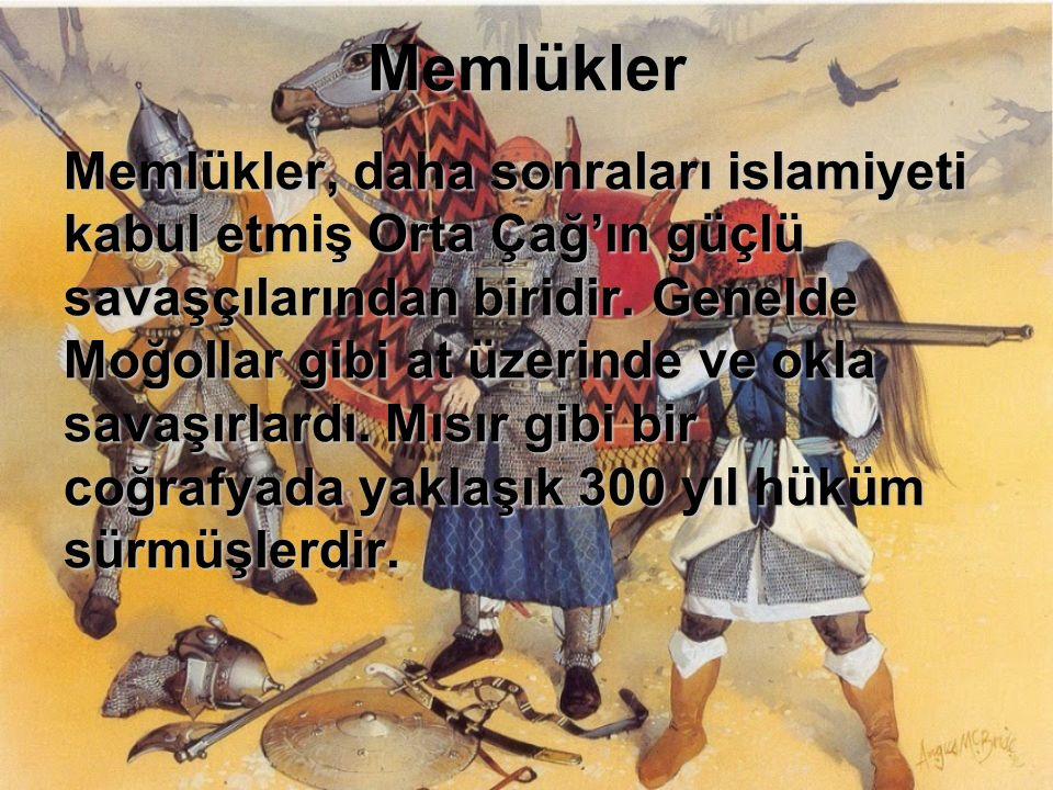 Yeniçeriler Osmanlı Devleti'nde askeri bir sınıf olarak kurulmuş olan Yeniçerler, Dünya tarihindeki ilk sistemli ve çağdaş ordudur.