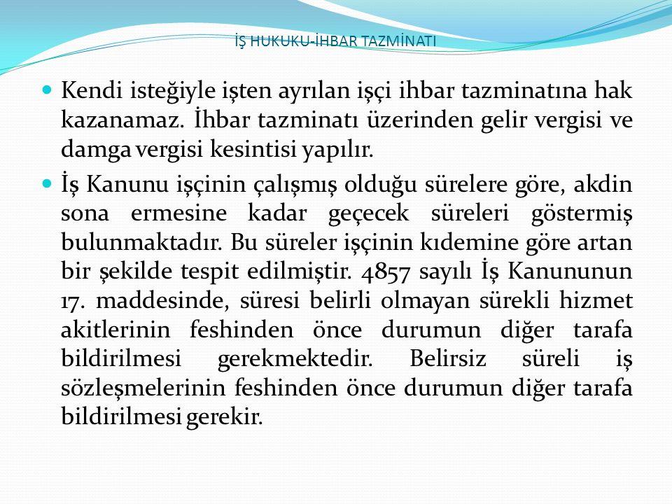 İŞ HUKUKU-İŞE İADE DAVASI 3.