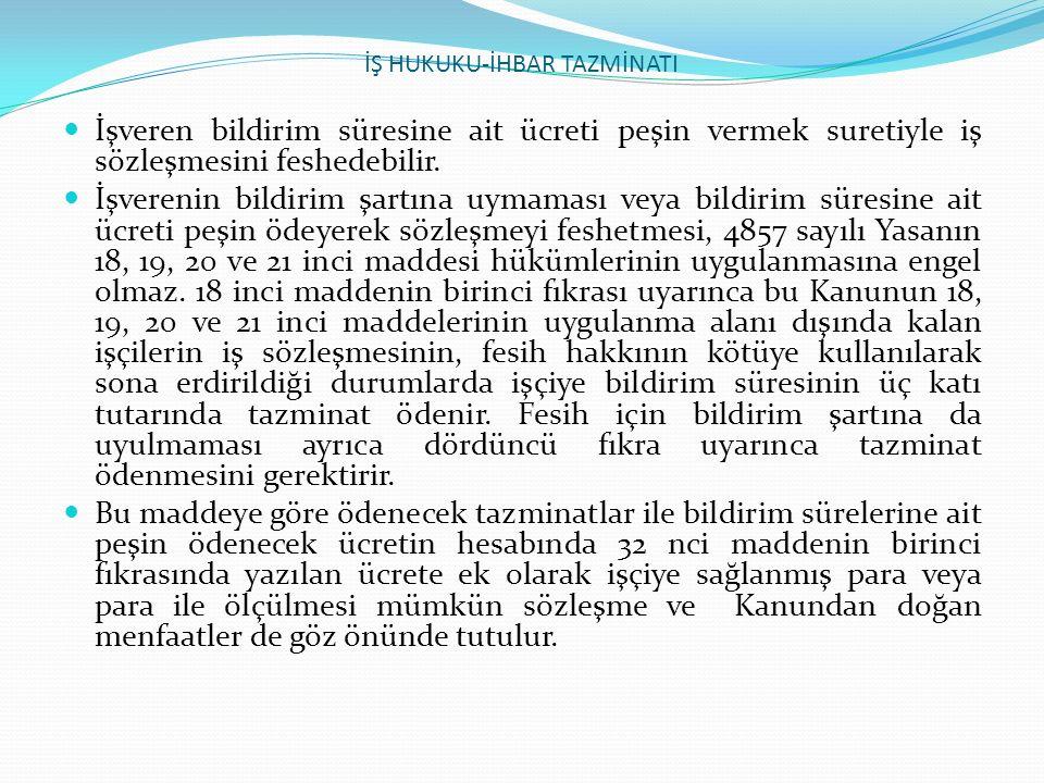 İŞ HUKUKU-İŞE İADE DAVASI 6.