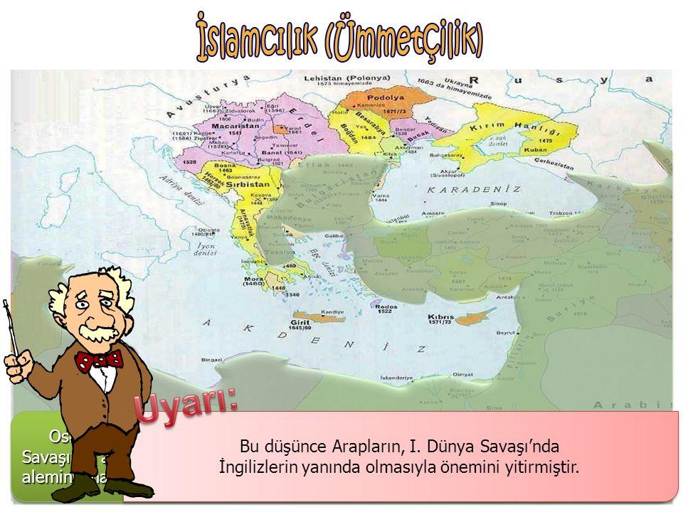 Osmanlıcılık, Osmanlı'nın çökmemesinin Osmanlı sınırları içinde yaşayanları dil, din, ırk ve mezhep ayrımı yapmaksızın, kanun önünde eşit görülmesine