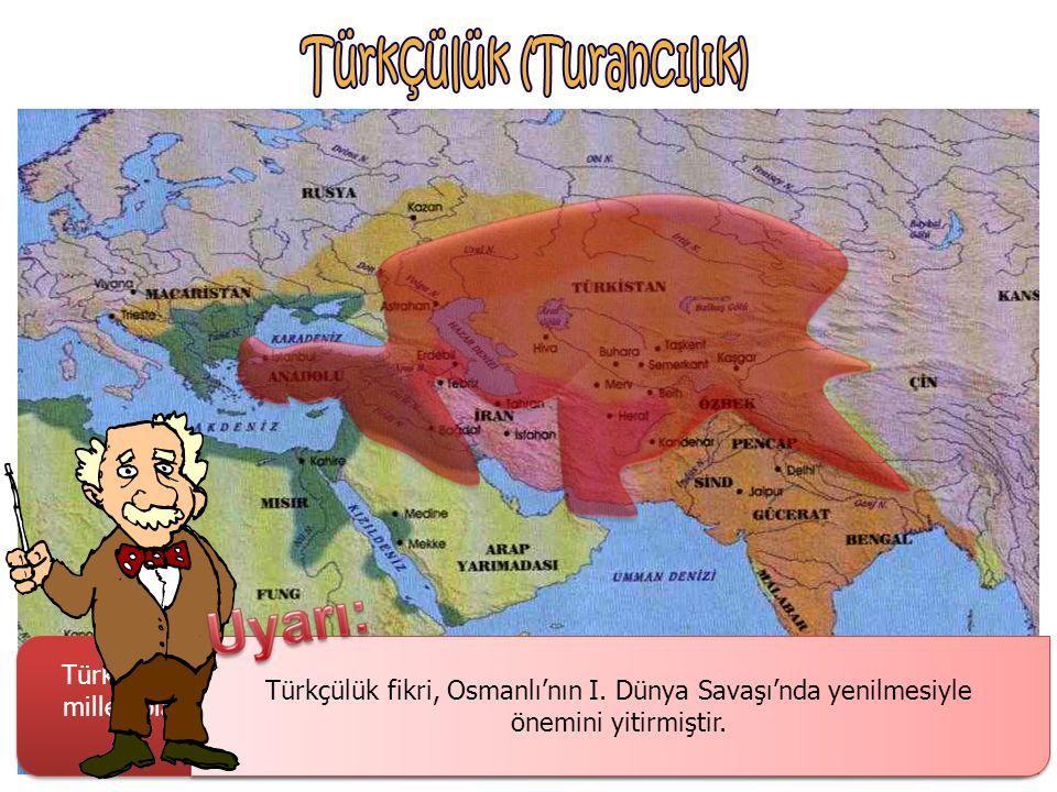 Osmanlıcılık düşünce akımının önemini kaybetmesi ve 1877-1878 Osmanlı-Rus Savaşı'nın ardından önem kazanan İslamcılık, Osmanlı'nın kurtuluşunu tüm İsl