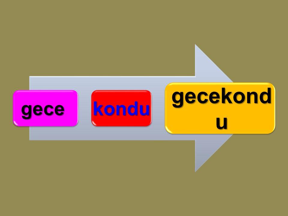 babaann e babaanne Aşağıdaki birleşik sözcüklerin hangi kelime çiftlerinden oluştuğunu bulunuz.