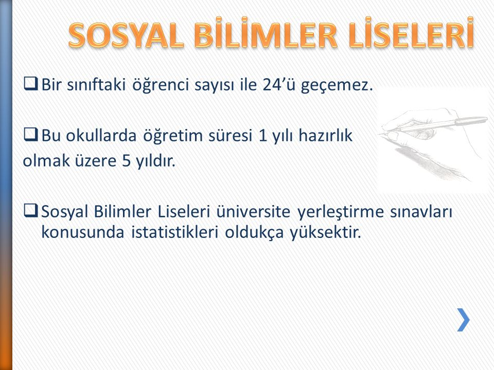 - Gelecekte Türk Silahlı Kuvvetlerinin bir üyesi olarak,ülkemize hizmet etmek isteyen öğrencilerin seçtiği okullardır.