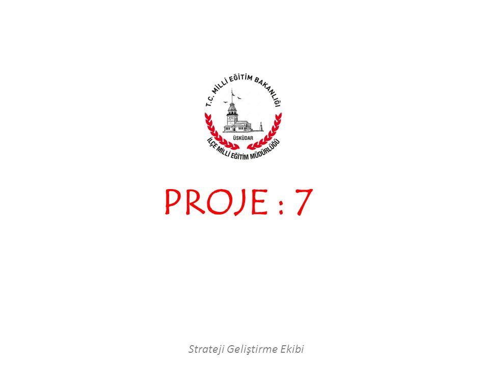 Strateji Geliştirme Ekibi PROJE : 7